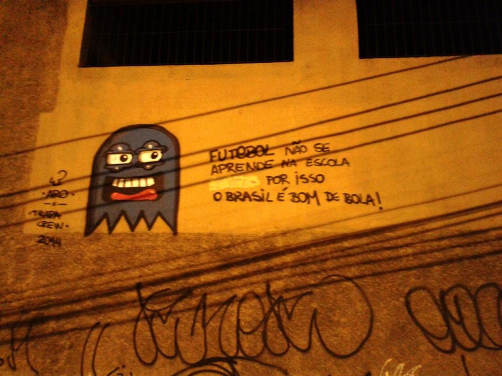 Brazil wall
