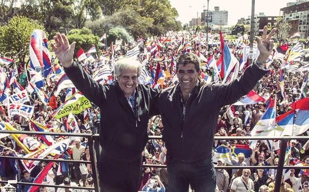 Il ticket presidenziale del Frente Amplio Vazquez-Sendic